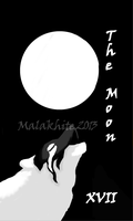 The Moon by Malakhite
