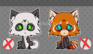 Kitty adoptables SET 2 by Rejuch