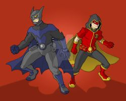 The Dynamic Duo 2.0 by superleezard