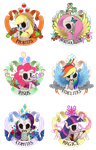 My Little Crests by purmu