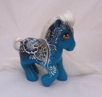 My little pony custom  henna Candana by AmbarJulieta
