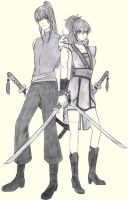 Kanda and Human Mugen by AngyValentine