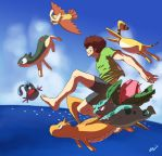 Pokemon Legend - Getto Daze by oNichaN-xD
