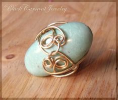Oval Ring II by blackcurrantjewelry