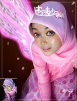 fairy with hijab by jong-preanger