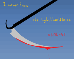 I Never Knew the Daylight Could Be So Violent by minieverfeel