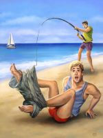 Catch of the Day by paulypants
