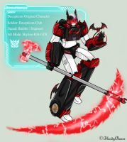 TF OC: DarkHorse by BloodyChaser