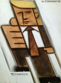 Tommervik Donald Trump One Thumbs Up Painting by TOMMERVIK