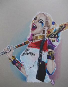 HARLEY QUINN (MARGOT ROBBIE SUICIDE SQUAD MOVIE) by ARTIEFISHEL79