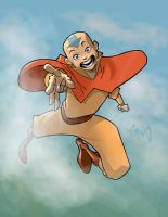 Aang the Avatar by RyanOdagawa