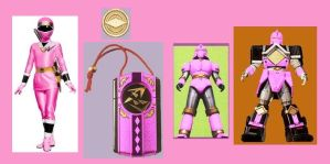 Pink Alien Ranger by Greencosmos80