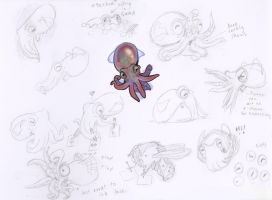 Cephalopod by wadifahtook
