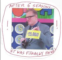 $25,000 Punchboard slip recently found on TPIR by dth1971
