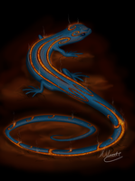 Lava Lizard by SonARTic