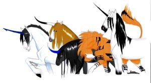 Bleach RP Unicorns by NovaLuna