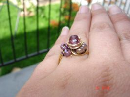 Mauve ring by buttercreamfantasies