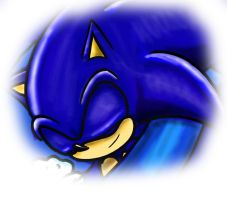 Sonic sleeping by GNTS