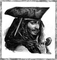 Jack Sparrow by cirocco