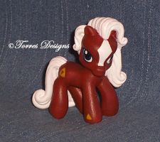 My Little Pony as Epona Zelda Custom OOAK #3 by TorresDesigns