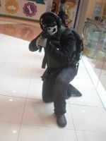 Call of Duty MW2 Ghost by faith-xuan