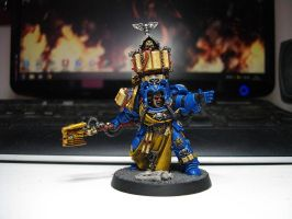 Space Marines Terminator Librarian 1 by TheWayOfTempest