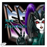 Miss Decepticon Girl by Axcido