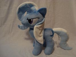 Trixie plush by SpaceVoyager