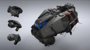Liquid Fuel Transport Ship by Seeker800