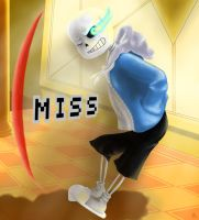 Sans missed by MsTobiGirl