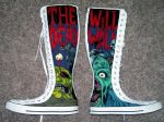 Zombie shoes by Cerpin23