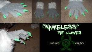 Nameless Gloves Commission by TwistedTerrace