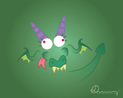 Krackle Dragon Wallpaper by Detrimentality