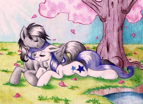 Commission: Together is Where We Will Be by EmbersLament