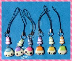 phone-strap little onigiri by super-ania