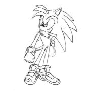 Energy the Hedgehog by thesoniczone11