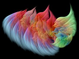 A Flaming Fractal by Thelma1