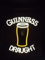Guinness Draught Neon by chronitonic
