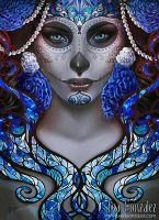 Blue Death by Bea-Gonzalez