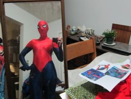80% done spidergirl another picture by animeloving-Okami