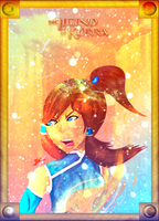 Legend of Korra Poster by GlitchCity