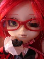 Grell Pullip- Kiss for You by Nitefury