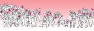 Dissidia - Valentines 2012 by blackwing-dias