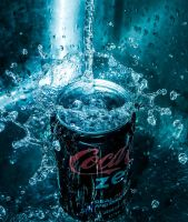 Coke Zero Splash by NovaMcKnighten