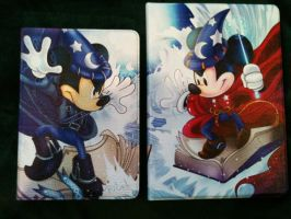 Sorcerer Mickey Battle Ipad air and mini covers by Kirdein