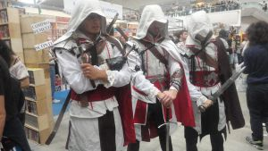 Romics: Assassin's Creed cosplay by Kalix5