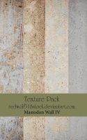 Mastodon Wall IV Texture Pack by redwolf518stock