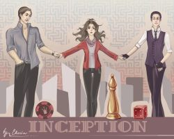 Inception - wallpaper by MeryChess
