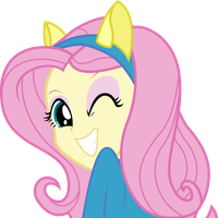 Equestria Girls - Fluttershy by Givralix