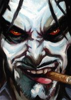 Lobo Graphic Heroes 101 by grantcooley